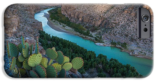 Epic Photographs iPhone Cases - Big Bend Evening iPhone Case by Inge Johnsson