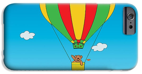 Toy Store iPhone Cases - Up to the Sky created by Kidslolll 20_24 iPhone Case by Kids Lolll