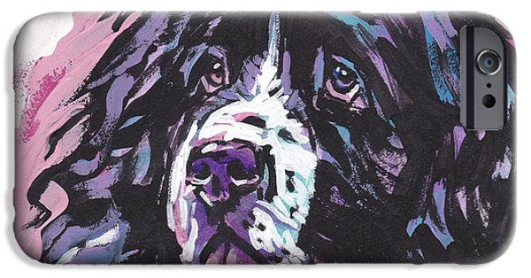Newfoundland iPhone Cases - Big Boy iPhone Case by Lea