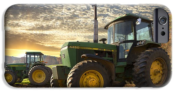 Recently Sold -  - Agriculture iPhone Cases - Big Boys Toys iPhone Case by Debra and Dave Vanderlaan