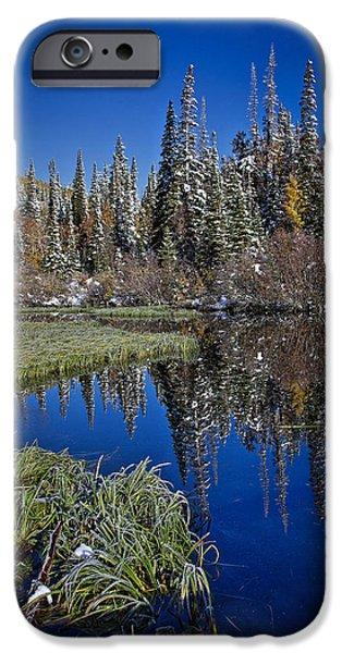 Big Cottonwood Canyon  iPhone Case by Richard Cheski
