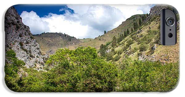 Deep River iPhone Cases - Big Dry Gulch iPhone Case by Robert Bales