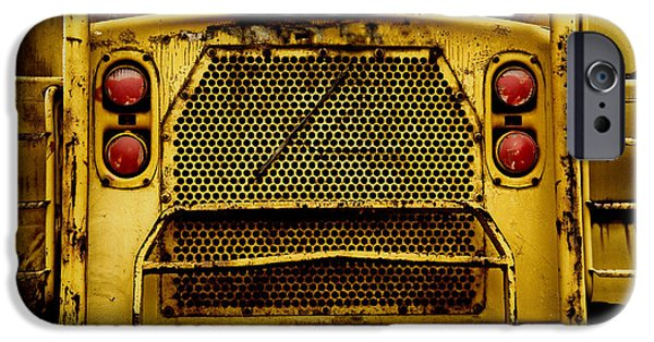 Construction Equipment iPhone Cases - Big Dump Truck Grille iPhone Case by Amy Cicconi