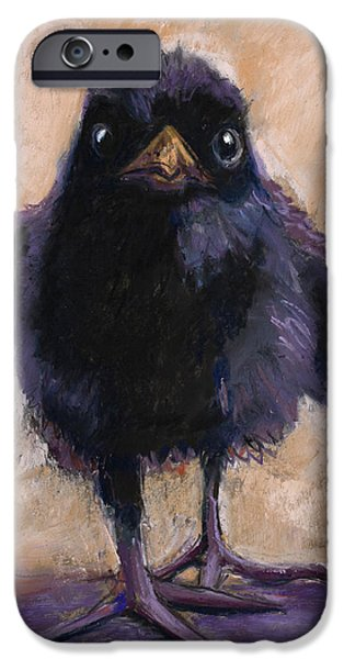 Baby Bird Pastels iPhone Cases - Big Foot iPhone Case by Billie Colson
