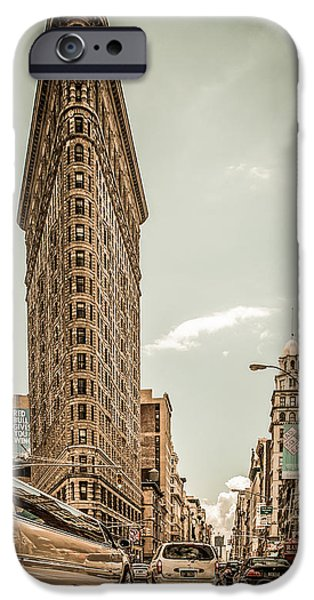 big in the big apple iPhone Case by Hannes Cmarits