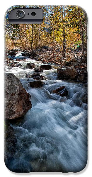Creek iPhone Cases - Big Pine Creek iPhone Case by Cat Connor