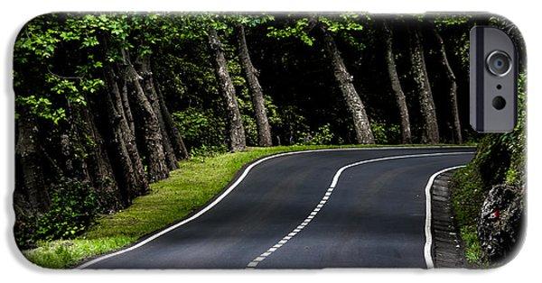 Edgar Laureano Photographs iPhone Cases - Big  road iPhone Case by Edgar Laureano