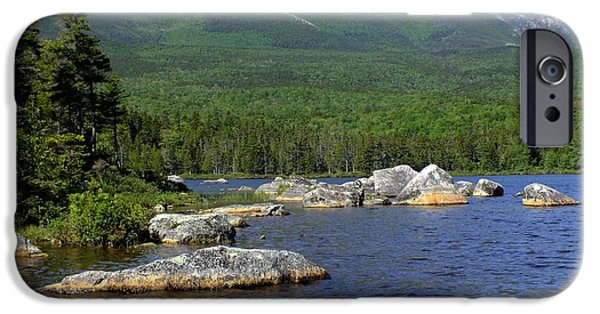 Recently Sold -  - Maine iPhone Cases - Big Rock View 3 iPhone Case by Gene Cyr