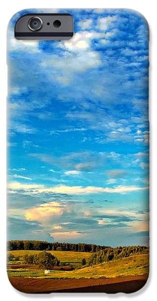 Big Sky Ontario iPhone Case by Steve Harrington