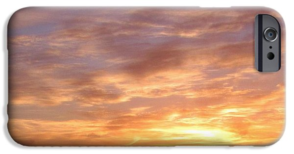 Malone iPhone Cases - Big Sky over Halifax Harbour iPhone Case by John Malone
