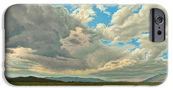 Skyscape iPhone Cases - Big Sky iPhone Case by Paul Krapf