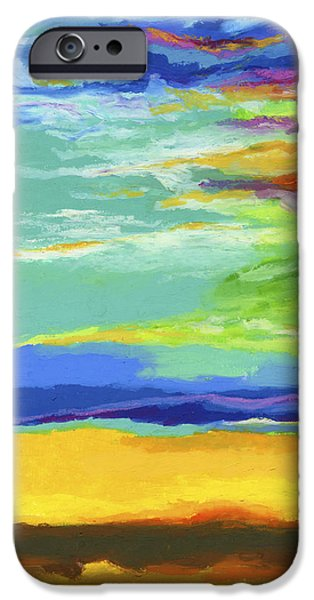 Clouds Pastels iPhone Cases - Big Sky iPhone Case by Stephen Anderson