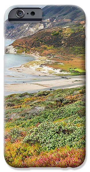 Big Sur California in Autumn iPhone Case by Pierre Leclerc Photography