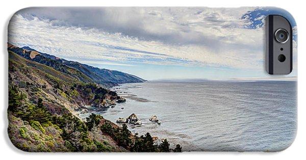 Pfeiffer Beach iPhone Cases - Big Sur Coast iPhone Case by Heidi Smith