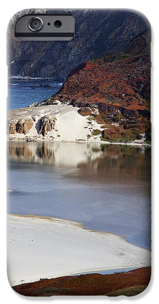 Big Sur Coastal Pond iPhone Case by Jenna Szerlag