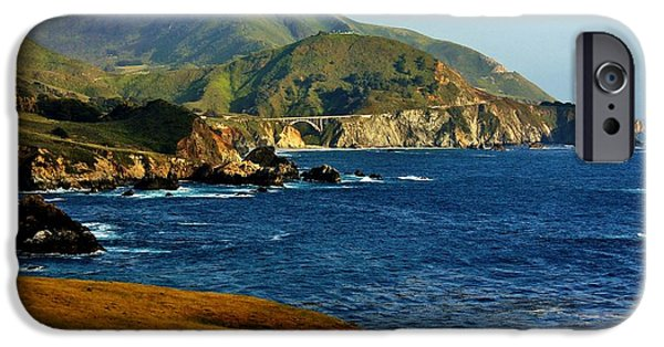 Bixby Bridge iPhone Cases - Big Sur Coastline iPhone Case by Benjamin Yeager