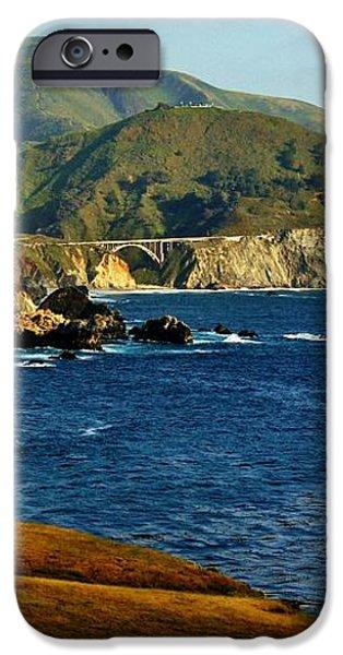 Big Sur Coastline iPhone Case by Benjamin Yeager