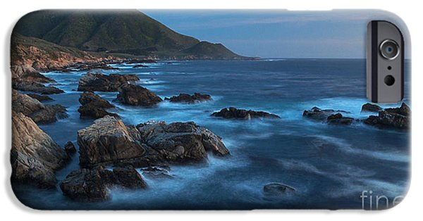 Big Sur Beach iPhone Cases - Big Sur Coastline iPhone Case by Mike Reid