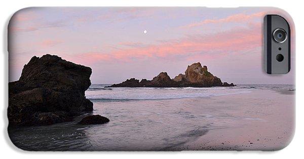 Pfeiffer Beach iPhone Cases - Big Sur Dawn iPhone Case by Stephen  Vecchiotti