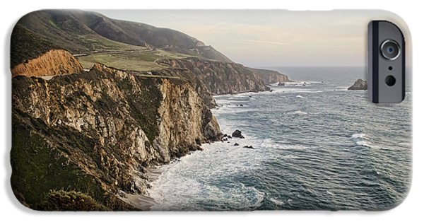 Big Sur Ca iPhone Cases - Big Sur iPhone Case by Heather Applegate