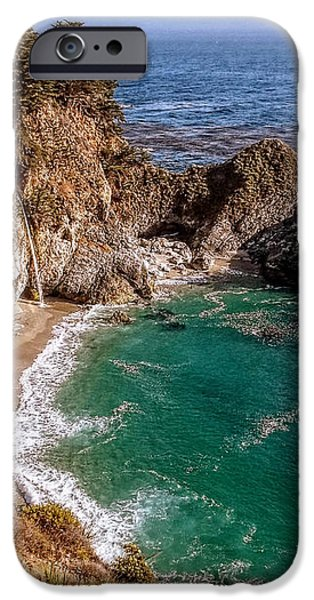 Big Sur - McWay Falls iPhone Case by Glenn McCarthy Art and Photography