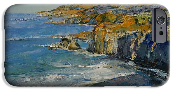 Big Sur Beach iPhone Cases - Big Sur iPhone Case by Michael Creese