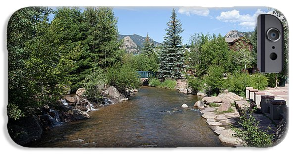 Kaypickens.com iPhone Cases - Big Thompson Estes Park iPhone Case by Kay Pickens