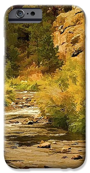 Big Thompson River 8 iPhone Case by Jon Burch Photography