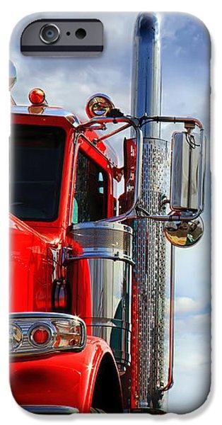 Big Trucks iPhone Case by Bob Orsillo