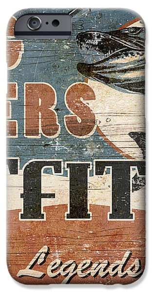 Big Waters Outfitters iPhone Case by JQ Licensing