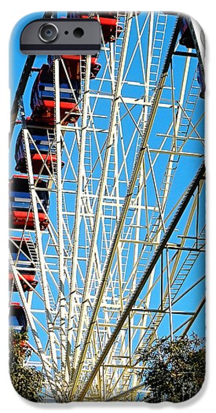 Big Wheel iPhone Case by Kaye Menner