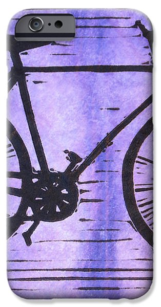 Bike 8 iPhone Case by William Cauthern