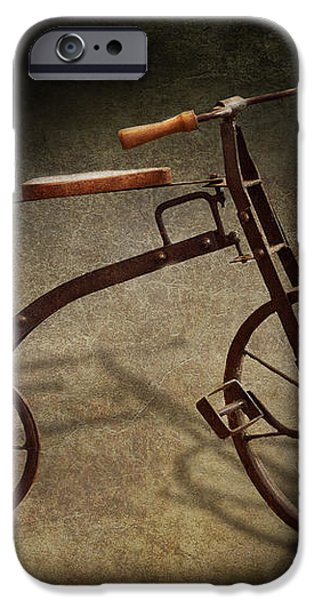 Bike - The Tricycle  iPhone Case by Mike Savad