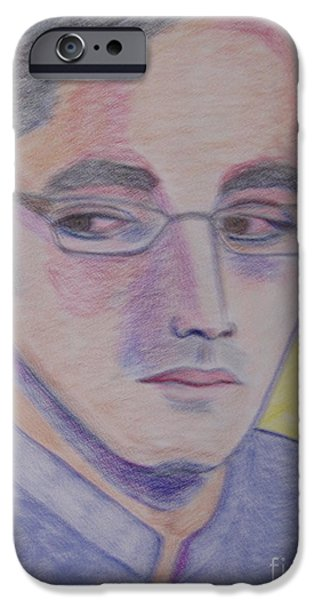 Politician Pastels iPhone Cases - Bilawal Bhutto iPhone Case by Manuel Matas