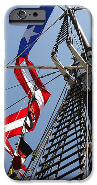 Tall Ship iPhone Cases - Bill of Rights iPhone Case by Art Block Collections