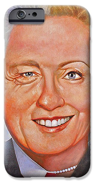 Hillary Clinton iPhone Cases - Billary iPhone Case by Gary McLaughlin