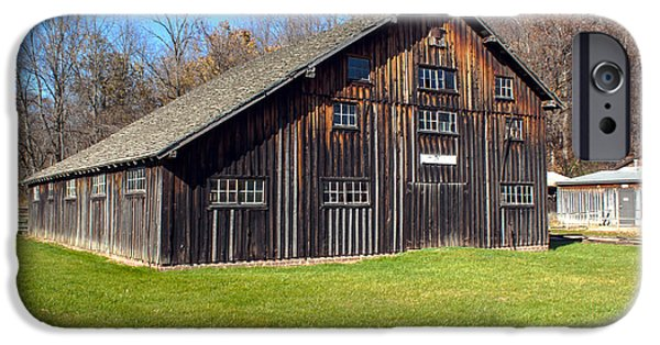 Billie Creek iPhone Cases - Billie Creek Barn iPhone Case by Thomas Sellberg