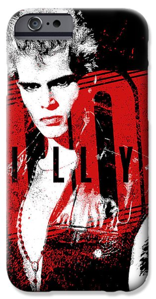 Eighties iPhone Cases - Billy Idol - Billy iPhone Case by Epic Rights
