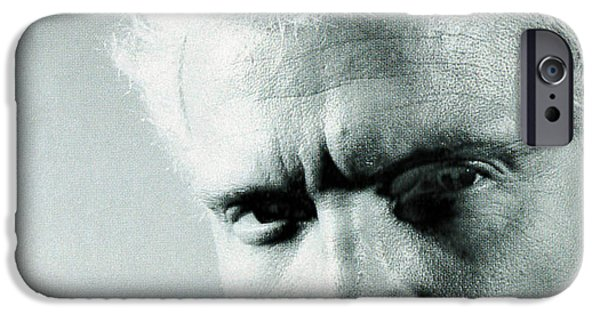 Eighties iPhone Cases - Billy Idol - Charmed Life Inner Sleeve 1990 iPhone Case by Epic Rights