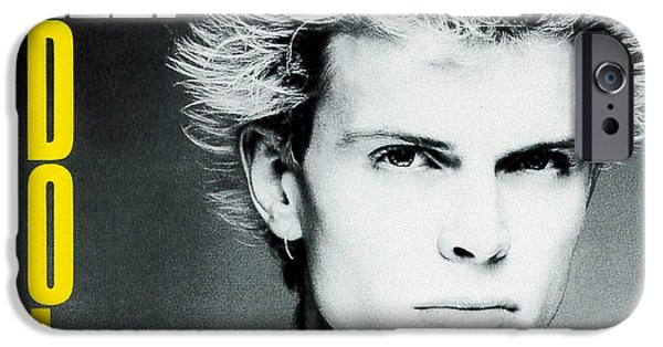 Eighties iPhone Cases - Billy Idol - Dont Stop 1981 iPhone Case by Epic Rights