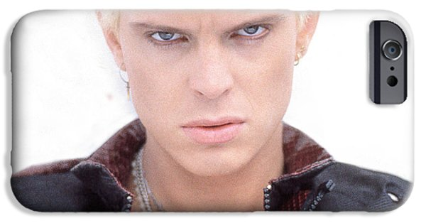 Eighties iPhone Cases - Billy Idol - Early Years iPhone Case by Epic Rights