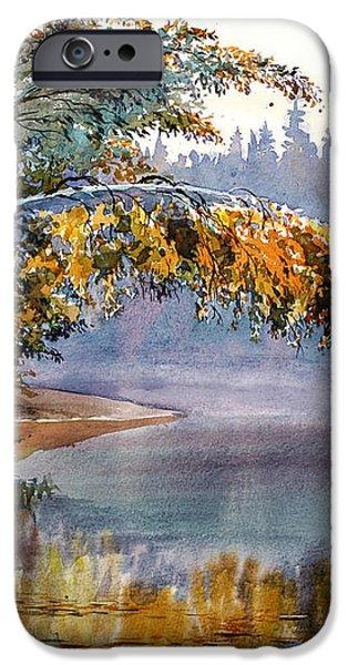 Birch Creek Beauty iPhone Case by Vladimir Zhikhartsev