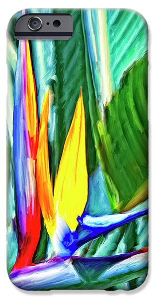 Bird of Paradise iPhone Case by Dominic Piperata