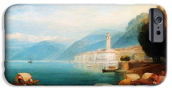 Hofner iPhone Cases - Birket Foster Lake Como iPhone Case by MotionAge Designs