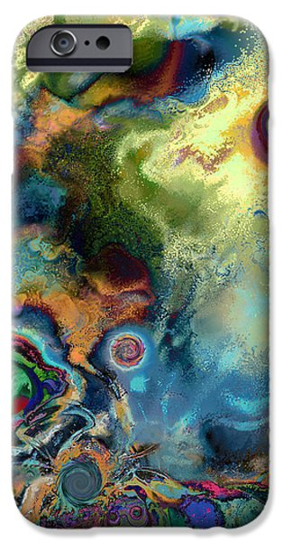 Birth of a Star iPhone Case by Ursula Freer