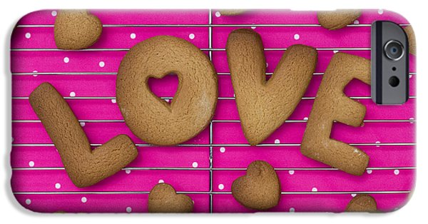 Stainless Steel iPhone Cases - Biscuit Love iPhone Case by Tim Gainey