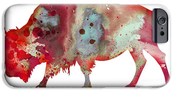 Bison iPhone Cases - Bison iPhone Case by Luke and Slavi