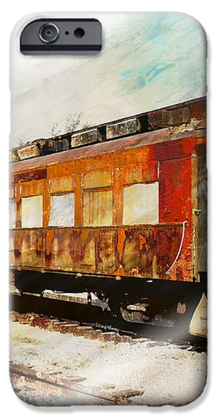 Bit of Rust iPhone Case by Robert Ball