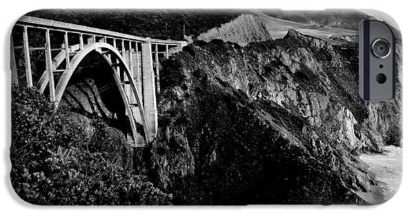 Pch iPhone Cases - Bixby Black and White iPhone Case by Benjamin Yeager