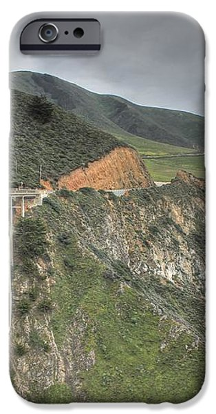 Bixby Bridge iPhone Case by Jane Linders